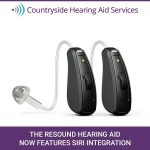 The Resound Hearing Aid Now Features Siri Integration
