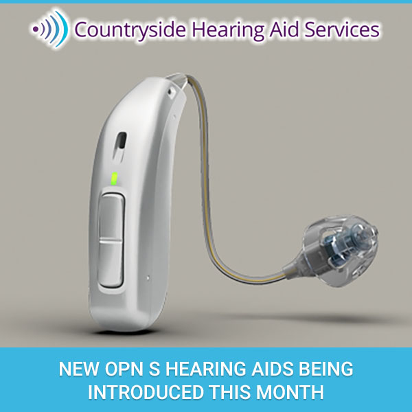 New Opn S Hearing Aids Being Introduced This Month