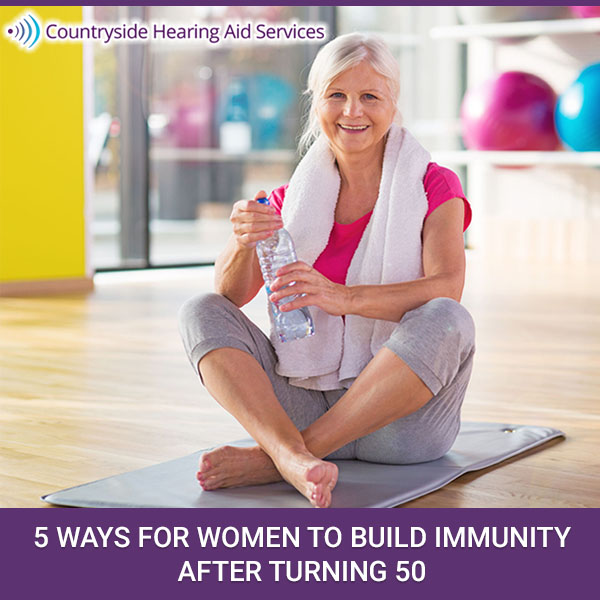 5 Ways for Women to Build Immunity After Turning 50