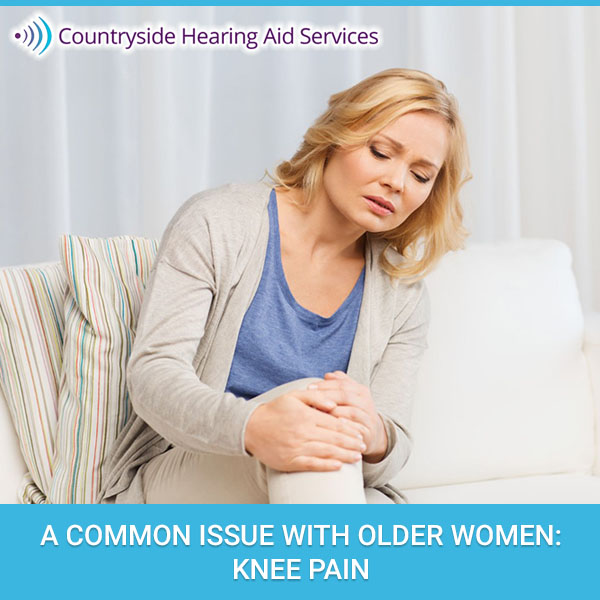 A Common Issue With Older Women: Knee Pain