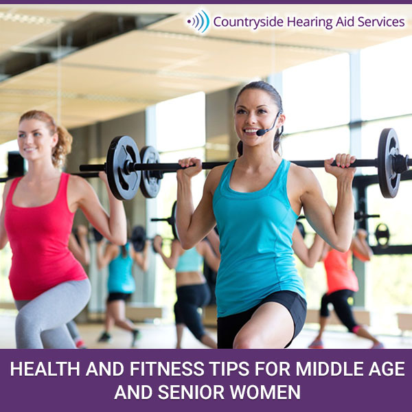 Health and Fitness Tips for Mature Woman