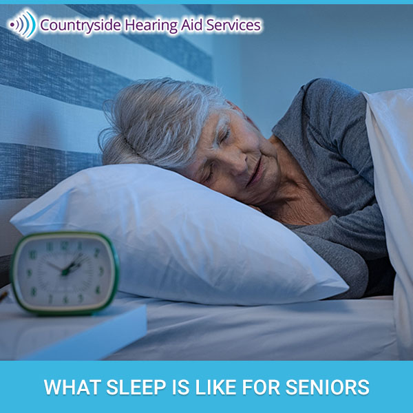 What Sleep is Like for Seniors
