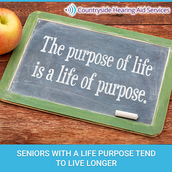 Seniors With A Life Purpose Tend To Live Longer
