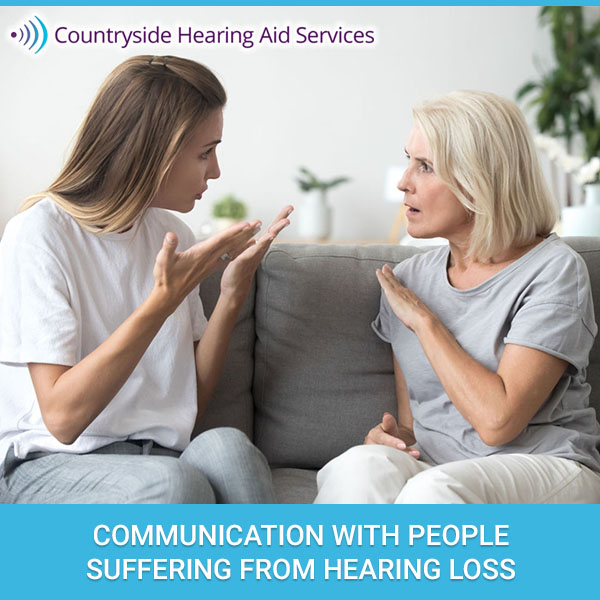 Communication With People Suffering From Hearing Loss