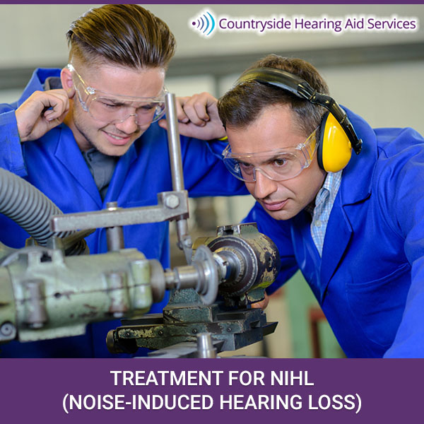 Treatment For NIHL (Noise-Induced Hearing Loss)
