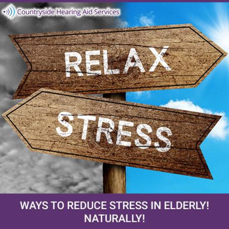 Ways To Reduce Stress In Elderly! Naturally!